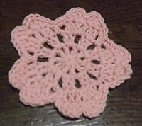 コースター 編み 図